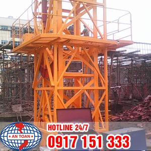 Dịch vụ lắp đặt cẩu tháp xây dựng