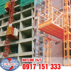 Vận thăng phổ biến trong xây dựng
