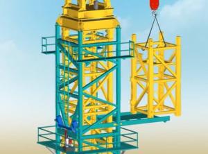 Quy trình lắp Cần cẩu tháp trong xây dựng