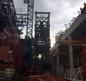 Cẩu tháp COMASA 15 tấn